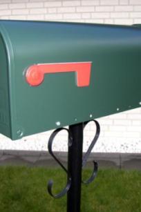 mailbox elite green