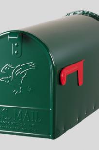 Original US-Mailbox Elite T-2 groen