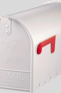 Original US-Mailbox Elite T-2 wit