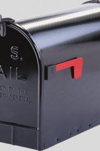 Original US-Mailbox Jumbo zwart